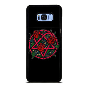HIM BAND HEARTAGRAM FLOWER Samsung Galaxy S8 Plus Hoesje,samsung s8 plus hoesje kruidvat galaxy s8 plus hoesje,HIM BAND HEARTAGRAM FLOWER Samsung Galaxy S8 Plus Hoesje