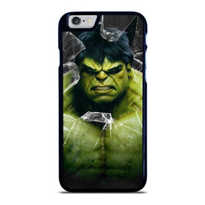 INCREDIBLE HULK CRACKS GLASS iPhone 6 / 6S hoesje