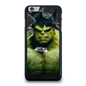 INCREDIBLE HULK CRACKS GLASS iPhone 6 / 6S Plus Hoesje