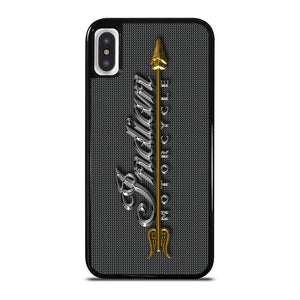 INDIAN MOTORCYCLE LOGO EMBLEM iPhone X / XS Hoesje