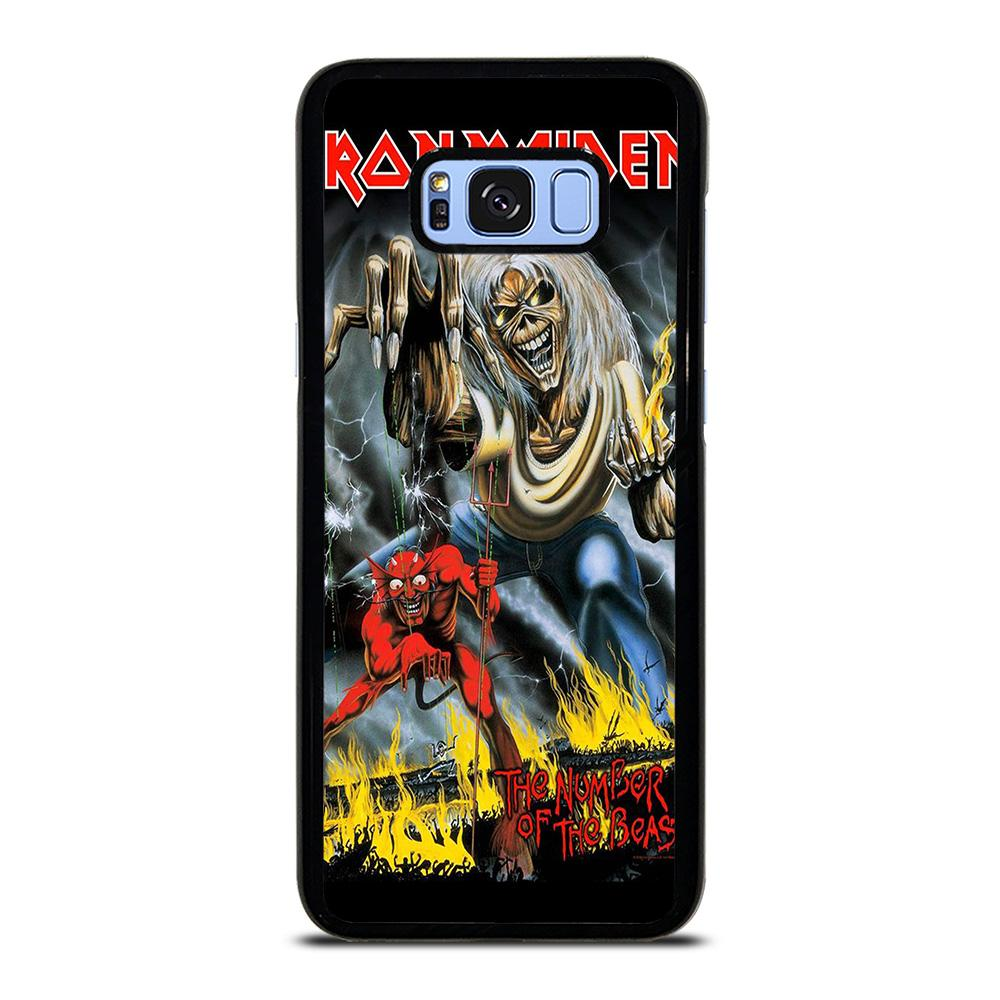 IRON MAIDEN THE NUMBER OF THE BEAST Samsung Galaxy S8 Plus Hoesje,samsung s8 plus hoesje foto hoesje s8  ,IRON MAIDEN THE NUMBER OF THE BEAST Samsung Galaxy S8 Plus Hoesje