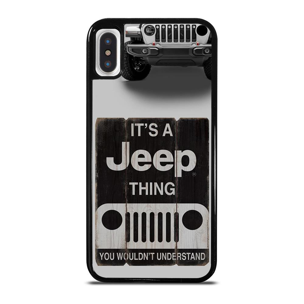 IT'S A JEEP THING iPhone X / XS Hoesje