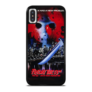 JASON FRIDAY THE 13TH HORROR MOVIE iPhone X / XS Hoesje