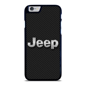 JEEP LOGO CARBON iPhone 6 / 6S hoesje
