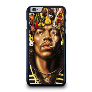 JIMI HENDRIX GUITAR HAIR iPhone 6 / 6S Plus Hoesje