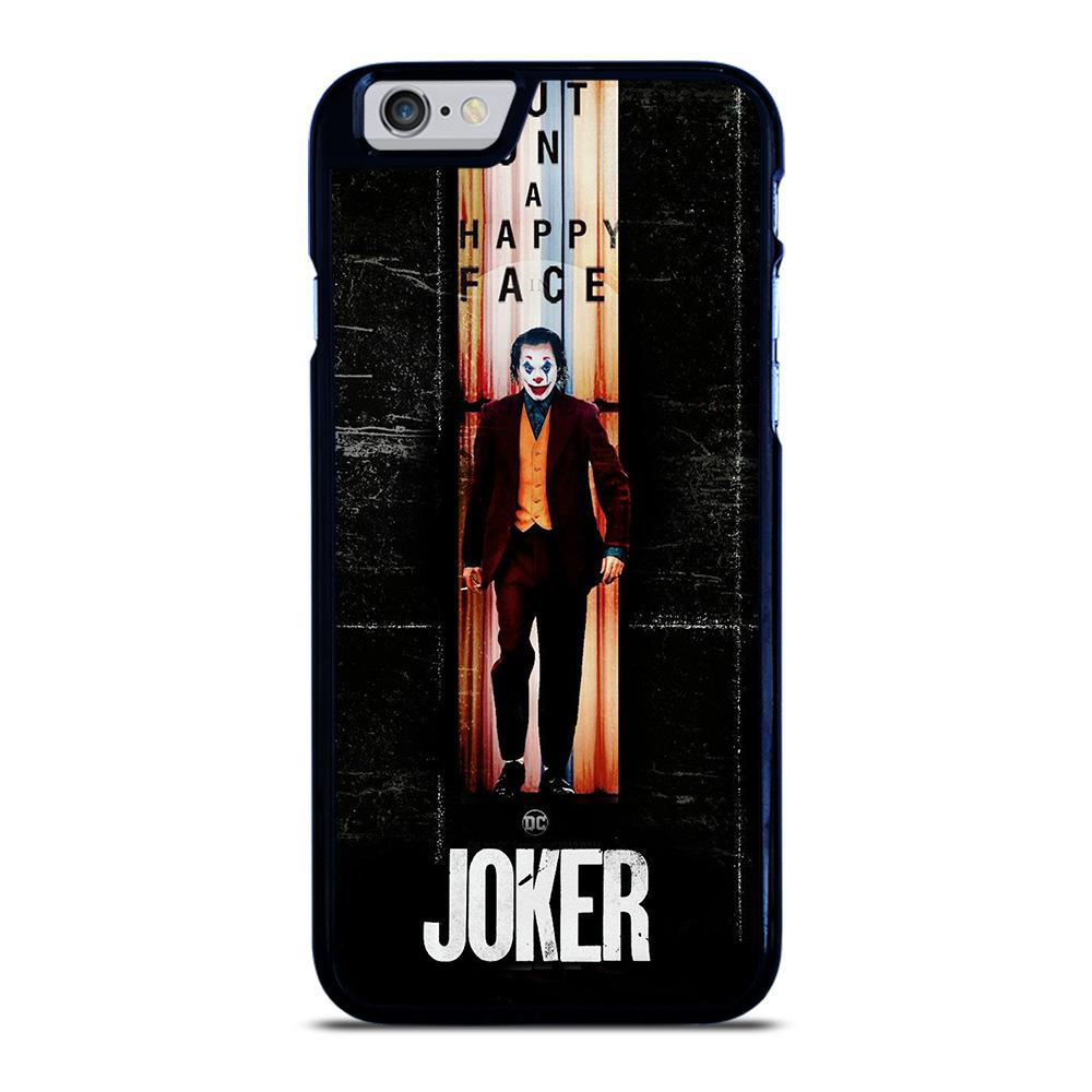 JOKER PUT ON A HAPPY FACE iPhone 6 / 6S Hoesje - goedhoesje