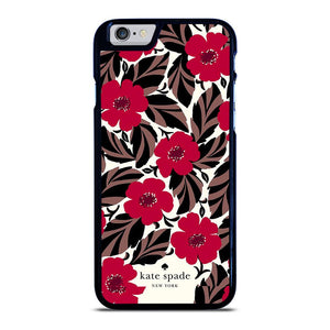KATE SPADE FLOWER RED iPhone 6 / 6S Hoesje - samsung hoesjes|iphone hoesjes|huawei hoesjes favohoesje.nl