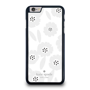KATE SPADE GREY FLOWER iPhone 6 / 6S Plus Hoesje