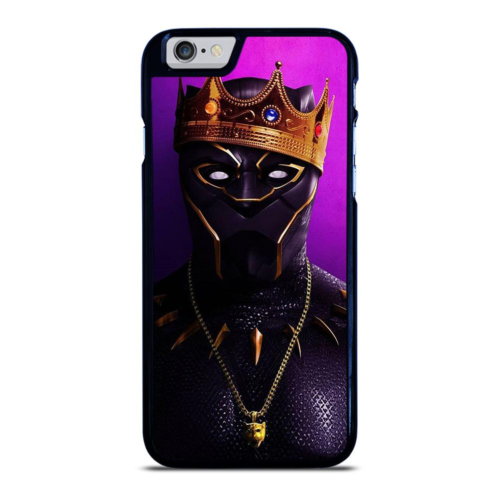 KING BLACK PANTHER iPhone 6 / 6S hoesje