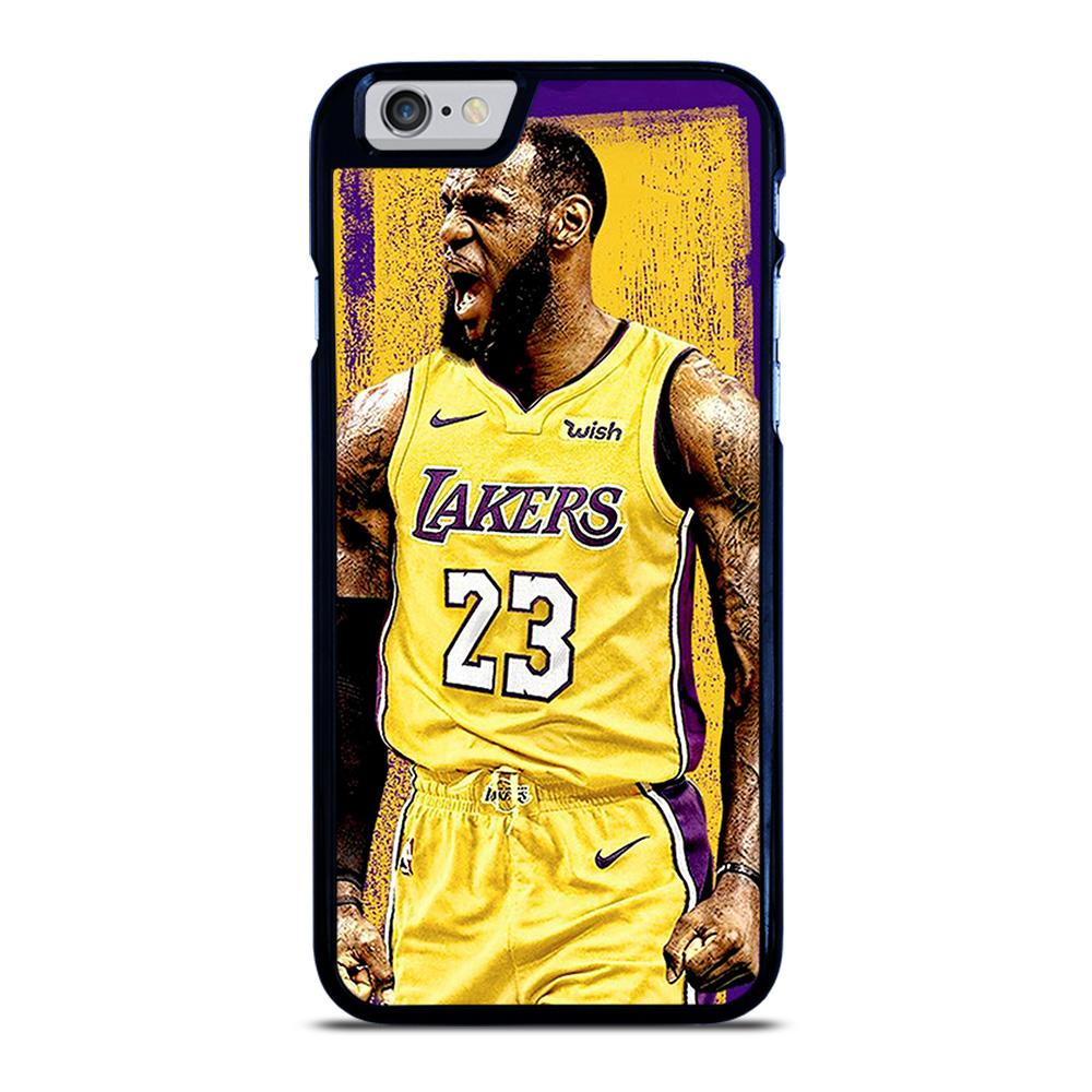 LEBRON JAMES LA LAKERSART iPhone 6 / 6S hoesje