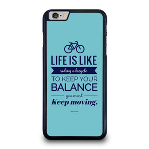 LIFE IS LIKE RIDING BYCICLE iPhone 6 / 6S Plus Hoesje