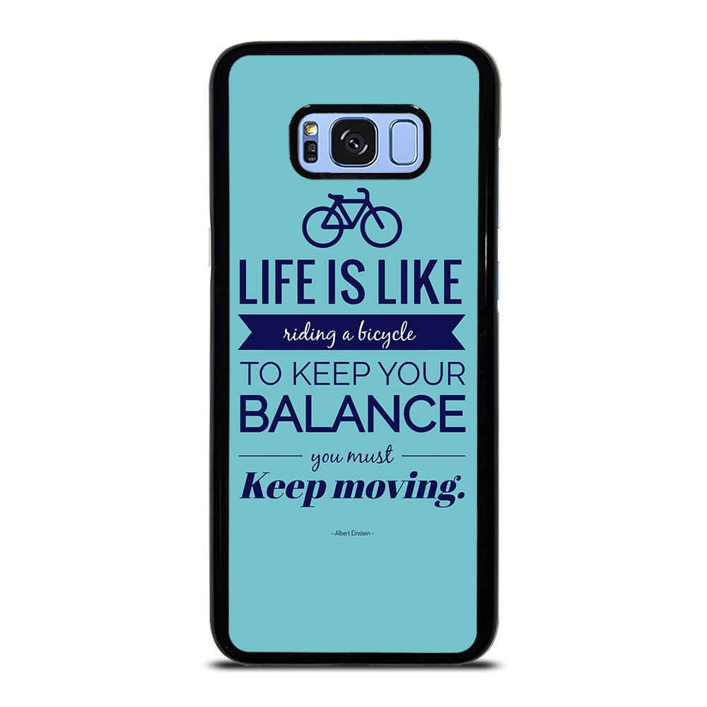 LIFE IS LIKE RIDING BYCICLE Samsung Galaxy S8 Plus Hoesje,s8 plus hoesje hoesje s8  ,LIFE IS LIKE RIDING BYCICLE Samsung Galaxy S8 Plus Hoesje