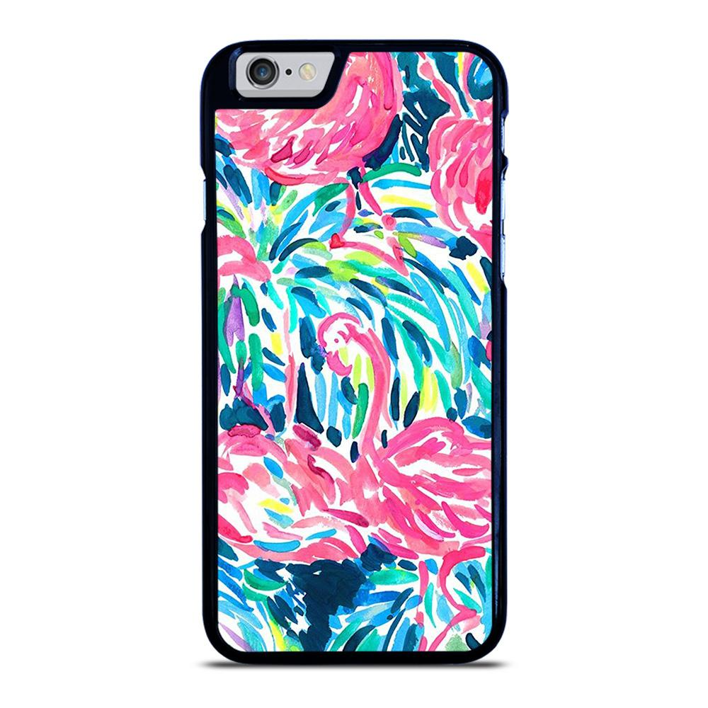 LILLY PULITZER FLAMINGO iPhone 6 / 6S hoesje