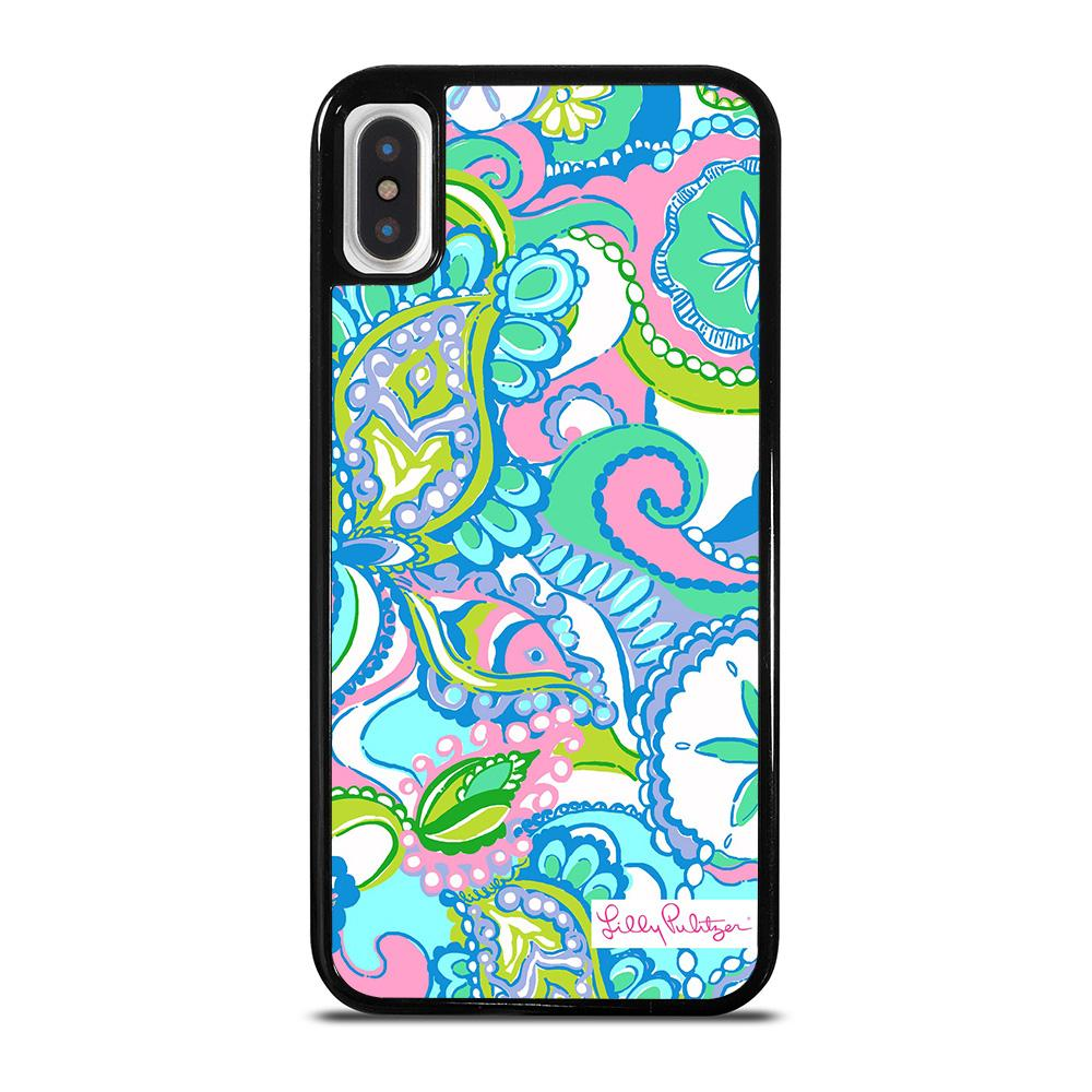 LILLY PULITZER NEW PATTERN iPhone X / XS Hoesje