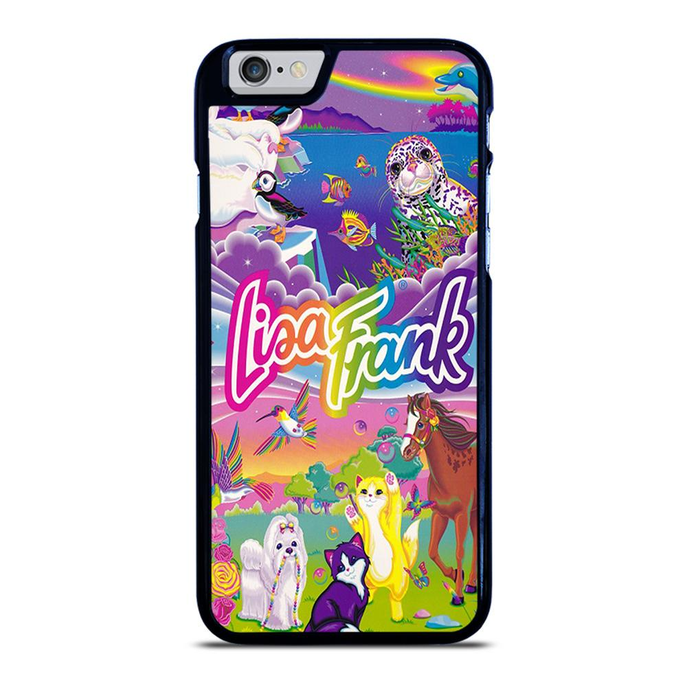 LISA FRANK LOGO iPhone 6 / 6S hoesje