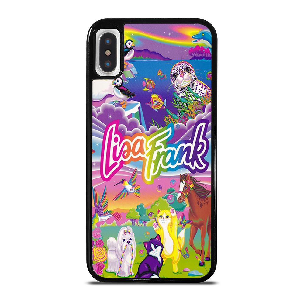 LISA FRANK LOGO iPhone X / XS Hoesje