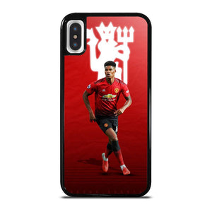 MANCHESTER UNITED MARCUS RAHFORD iPhone X / XS Hoesje