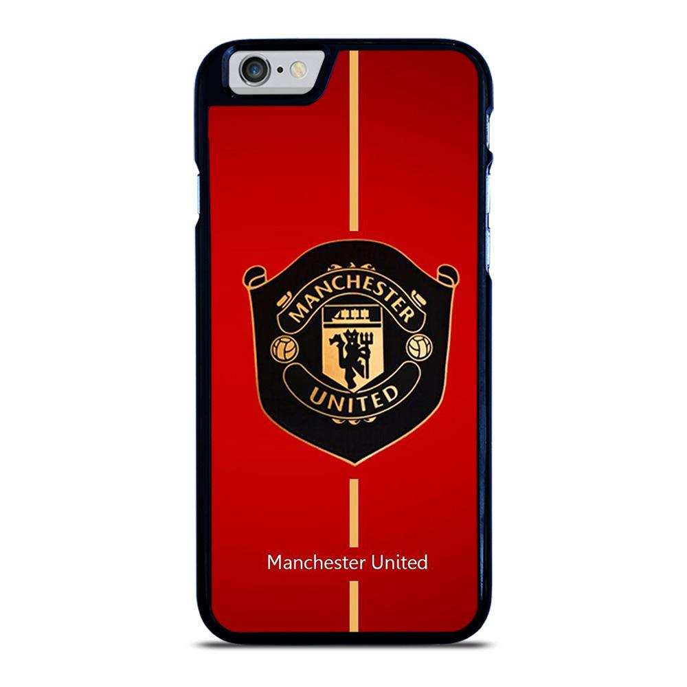 MANCHESTER UNITED MU LOGO iPhone 6 / 6S hoesje
