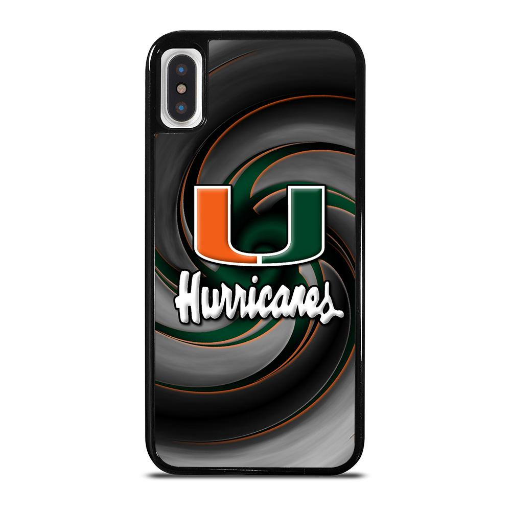 MIAMI HURRICANES ICON iPhone X / XS Hoesje
