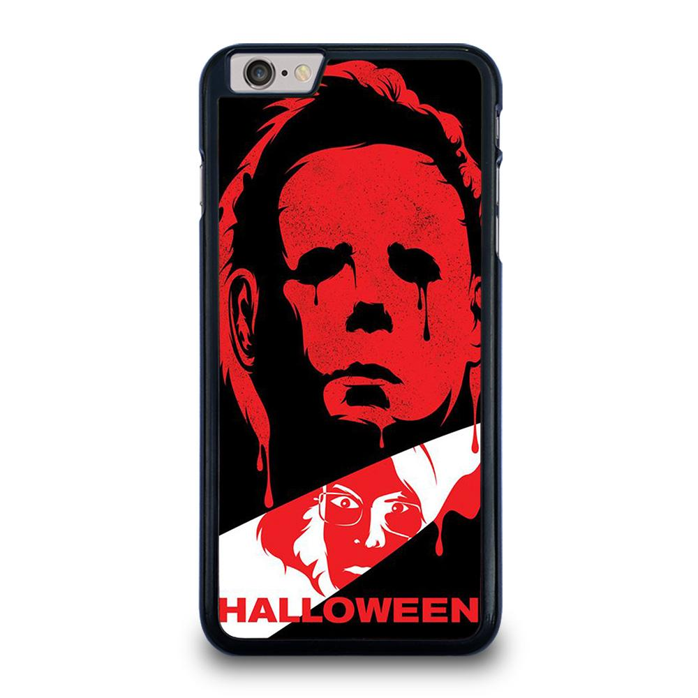 MICHAEL MYERS HALLOWEEN CLIP ART iPhone 6 / 6S Plus Hoesje