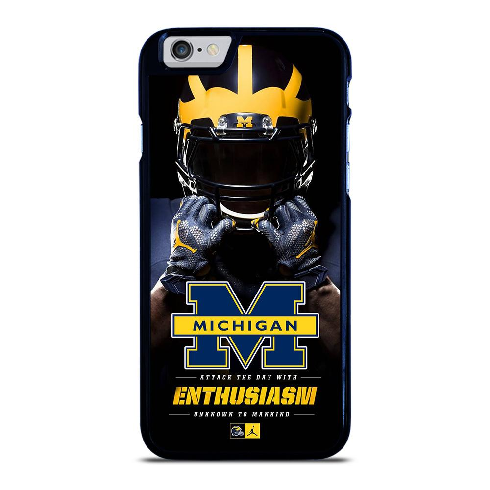 MICHIGAN WOLVERINES iPhone 6 / 6S hoesje