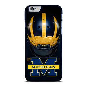 MICHIGAN WOLVERINES HELMET iPhone 6 / 6S hoesje