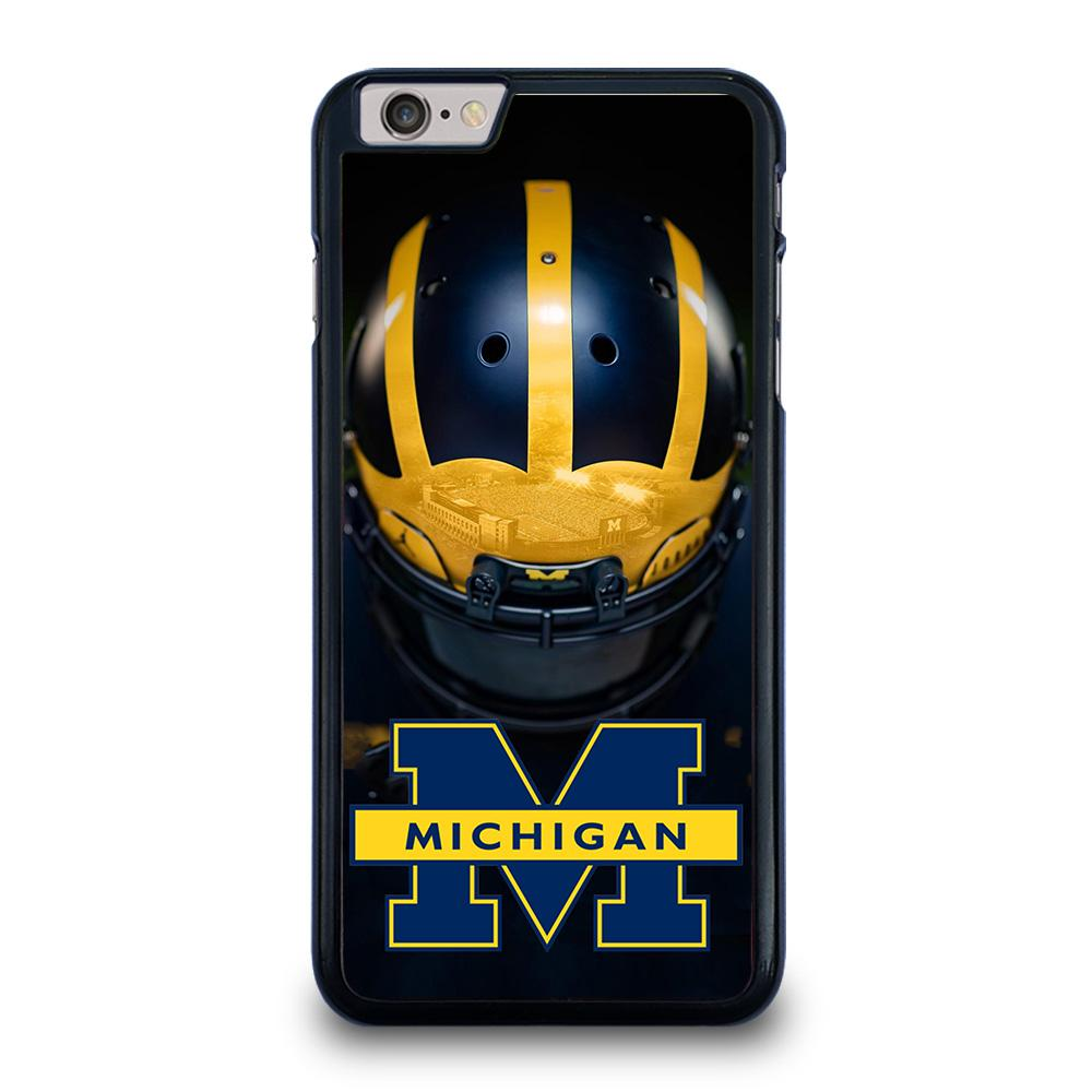 MICHIGAN WOLVERINES HELMET iPhone 6 / 6S Plus Hoesje