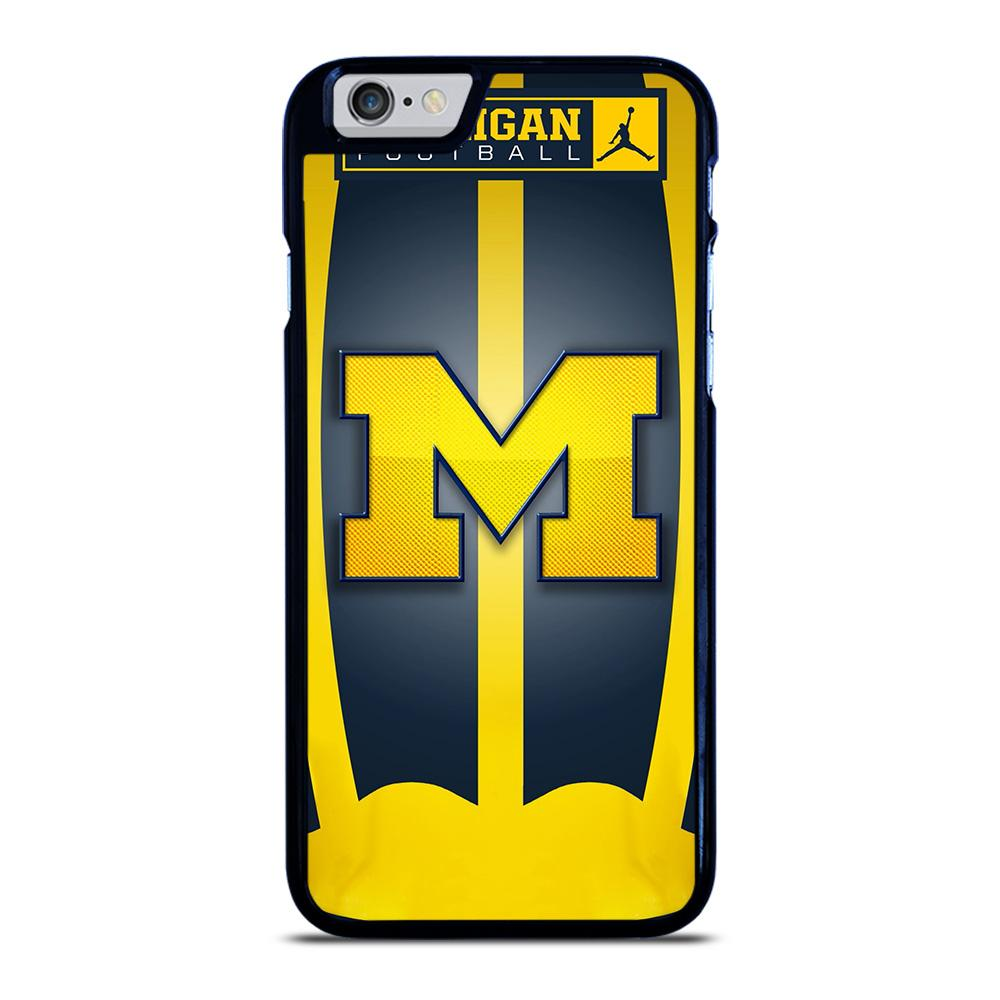 MICHIGAN WOLVERINES LOGO iPhone 6 / 6S hoesje
