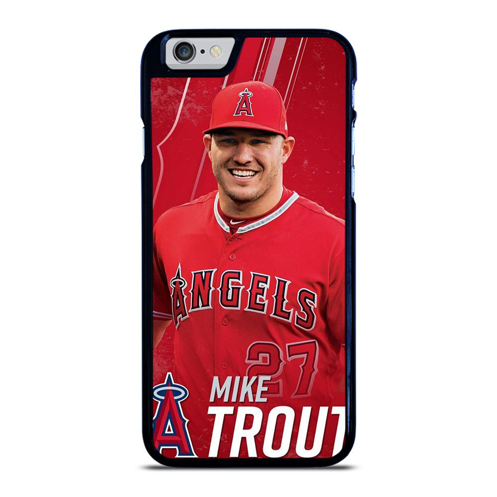 MIKE TROUT BASEBALL iPhone 6 / 6S hoesje