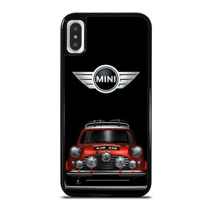 MINI COOPER CAR RETRO iPhone X / XS Hoesje