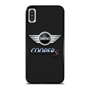 MINI COOPER S CARBOON iPhone X / XS Hoesje