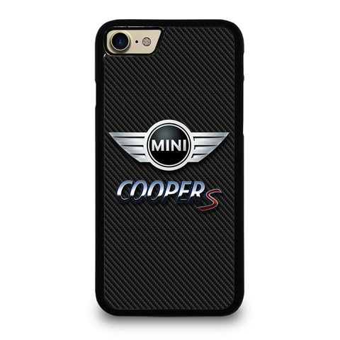 MINI COOPER S CARBOON iPhone 7 / 8 Hoesje