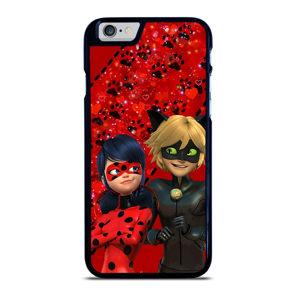 MIRACULOUS TALES OF LADY BUG CARTOON iPhone 6 / 6S hoesje