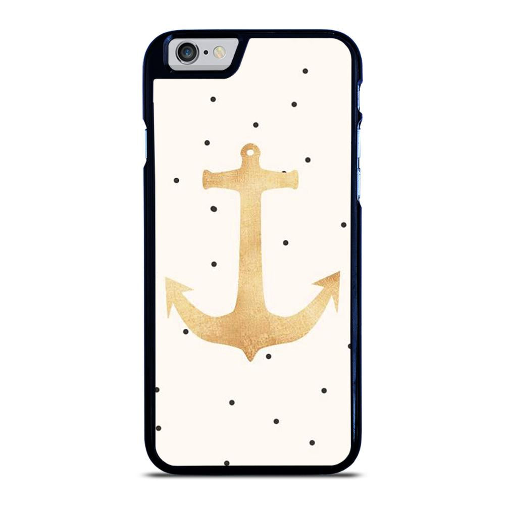 NAUTICAL ANCHOR POLKADOT iPhone 6 / 6S hoesje