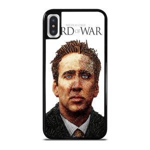 NICOLAS CAGE LORD OF WAR iPhone X / XS Hoesje
