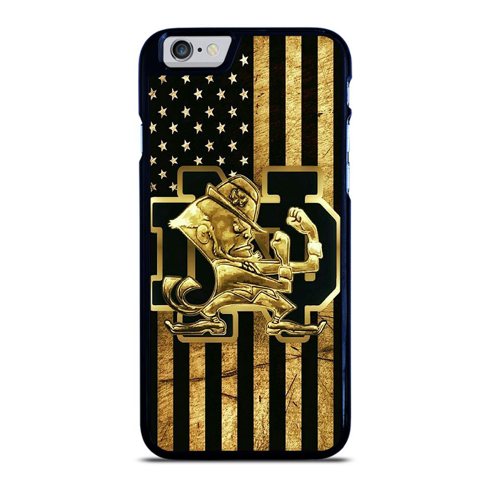 NOTRE DAME FIGHTING IRISH GOLD iPhone 6 / 6S hoesje