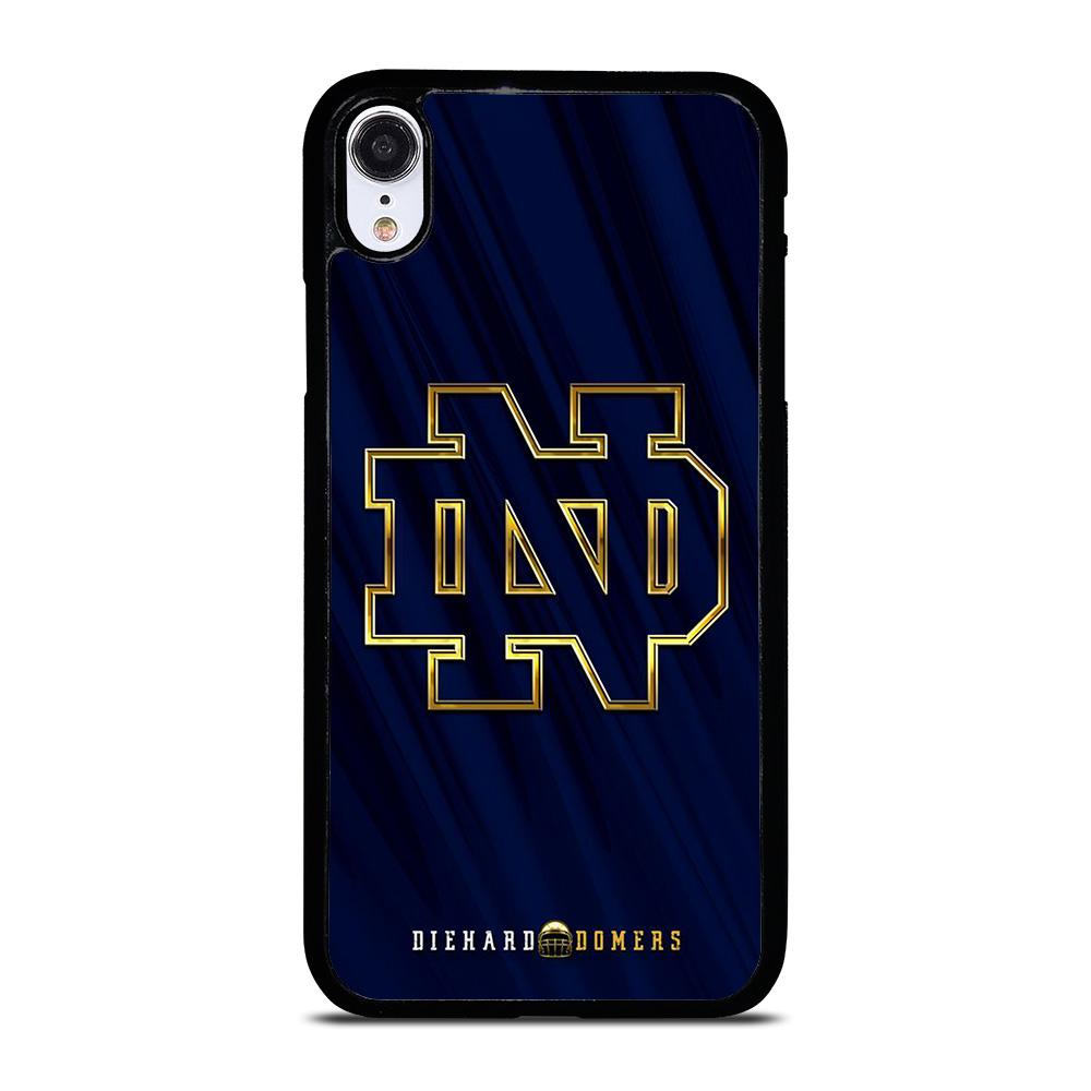 NOTRE DAME ND FOOTBALL LOGO iPhone XR Hoesje,iphone xr hoesje transparant leren iphone xr hoesje,NOTRE DAME ND FOOTBALL LOGO iPhone XR Hoesje