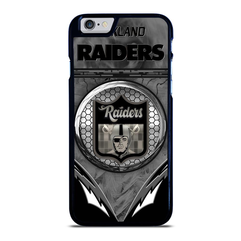 OAKLAND RAIDERS NFL LOGO iPhone 6 / 6S hoesje