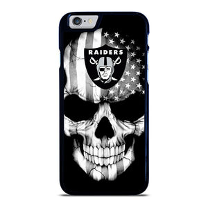 OAKLAND RAIDERS SKULL iPhone 6 / 6S hoesje