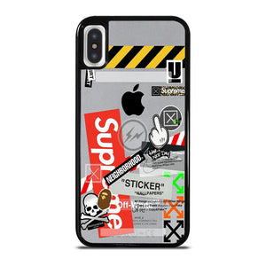 OFF WHITE SUPREME iPhone X / XS Hoesje