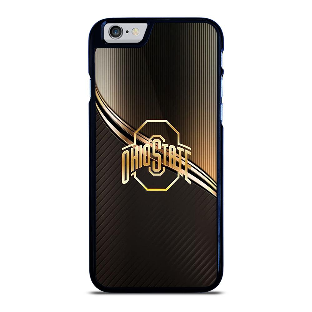 OHIO STATE FOOTBALL GOLD LOGO iPhone 6 / 6S Hoesje
