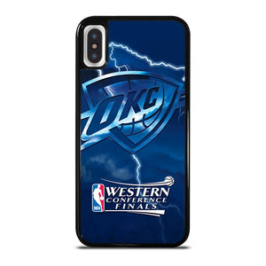 OKC OKLAHOMA CITY THUNDER NBA iPhone X / XS Hoesje