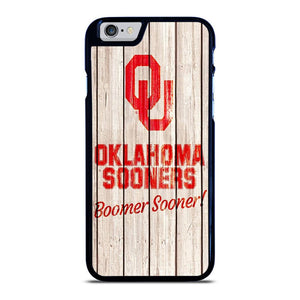 OKLAHOMA SOONERS WOODEN LOGO iPhone 6 / 6S hoesje - samsung hoesjes|iphone hoesjes|huawei hoesjes favohoesje.nl