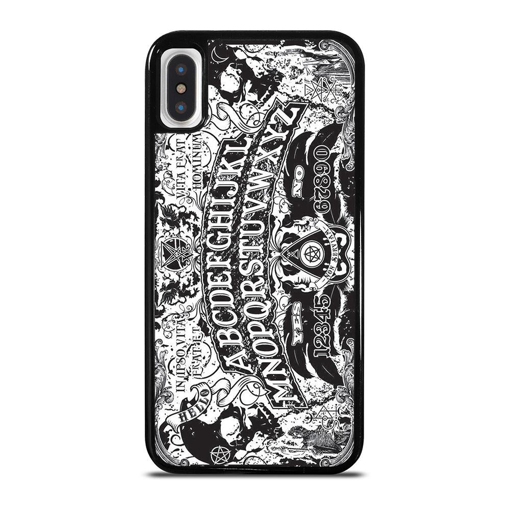 OUIJA BOARD BLACK AND WHITE iPhone X / XS Hoesje