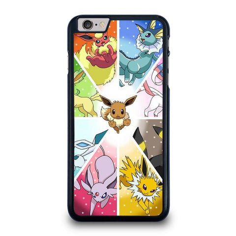 POKEMON ALL EEVEE iPhone 6 / 6S Plus Hoesje