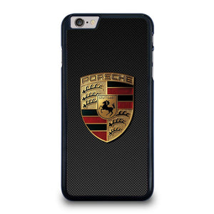 PORSCHE LOGO CARBON iPhone 6 / 6S Plus Hoesje