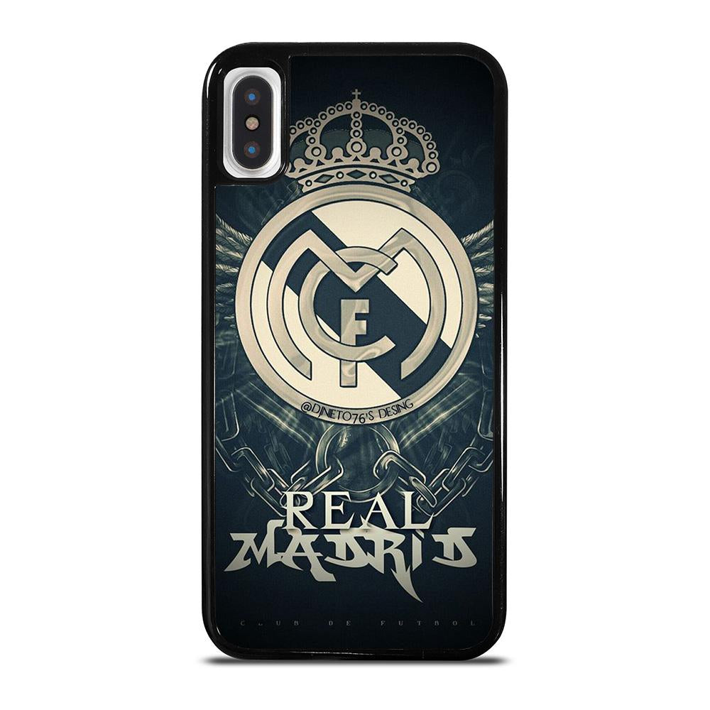 REAL MADRID FC LOGO iPhone X / XS Hoesje