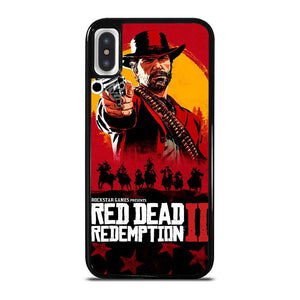 RED DEAD REDEMPTION 2 iPhone X / XS Hoesje