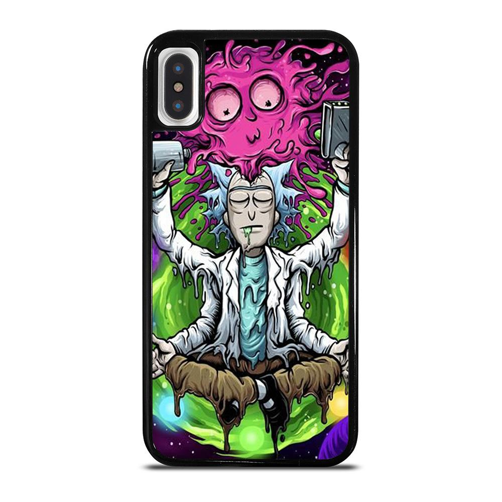 RICK AND MORTY ART iPhone X / XS Hoesje