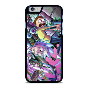 RICK AND MORTY CARTOON iPhone 6 / 6S hoesje